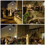 Paljenje četvrte adventske svijeće