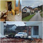 Hrastovica i Čuntić nakon potresa